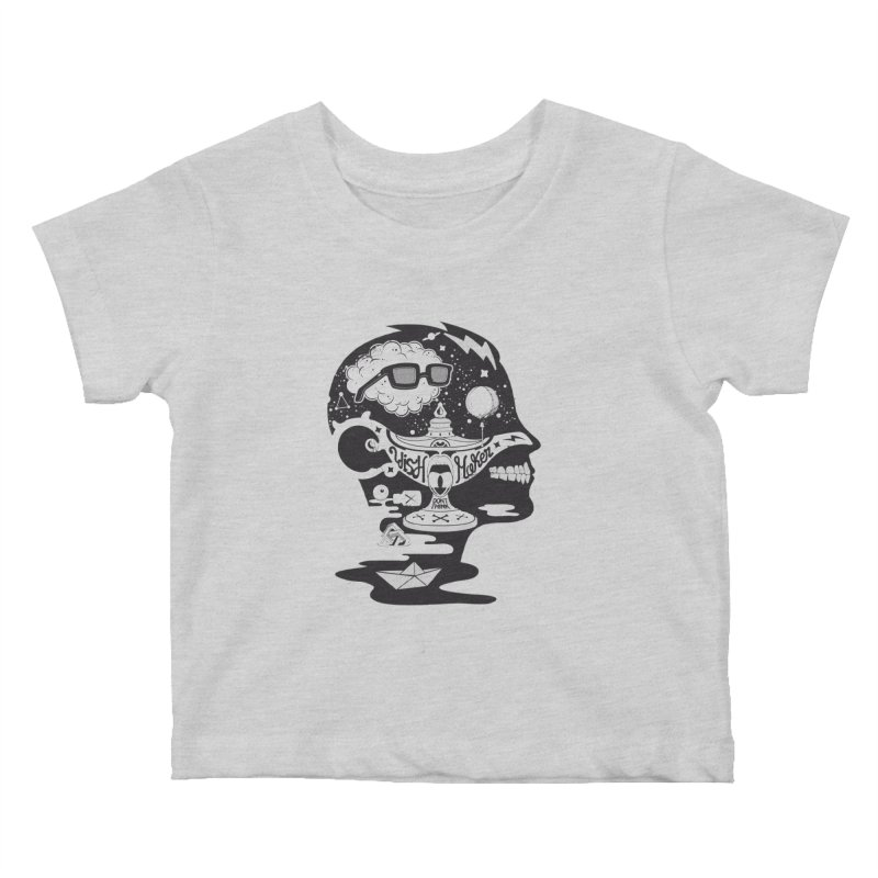 WISH MAKER Kids Baby T-Shirt by kukulcanvas's Artist Shop