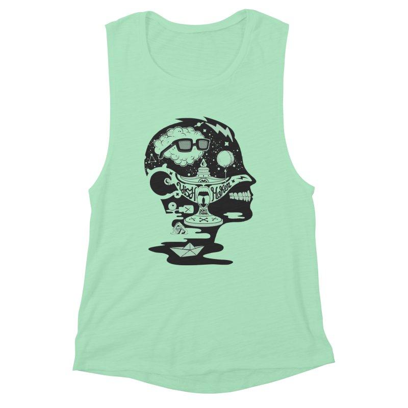 WISH MAKER Women's Muscle Tank by kukulcanvas's Artist Shop