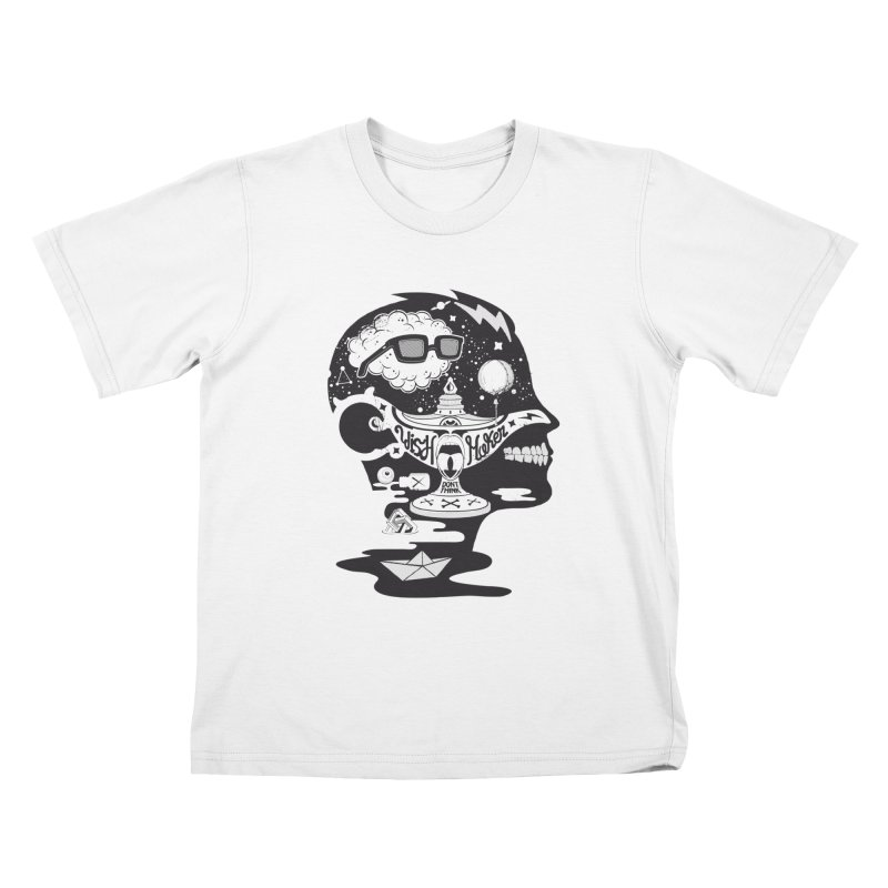 WISH MAKER Kids T-Shirt by kukulcanvas's Artist Shop
