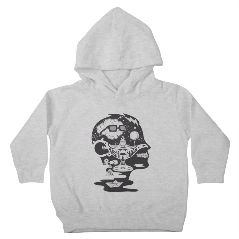 WISH MAKER Kids Toddler Pullover Hoody by kukulcanvas's Artist Shop