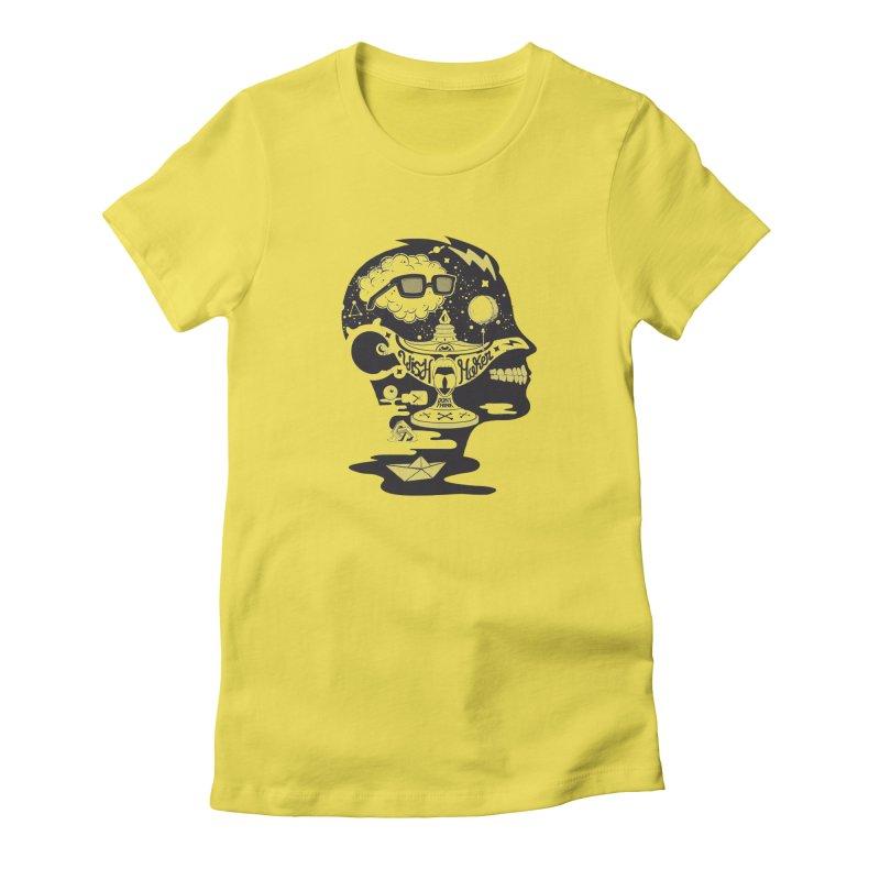 WISH MAKER Women's T-Shirt by kukulcanvas's Artist Shop