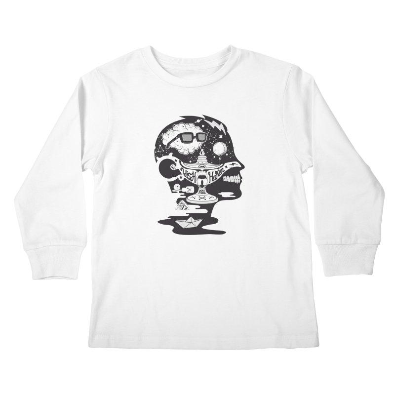 WISH MAKER Kids Longsleeve T-Shirt by kukulcanvas's Artist Shop