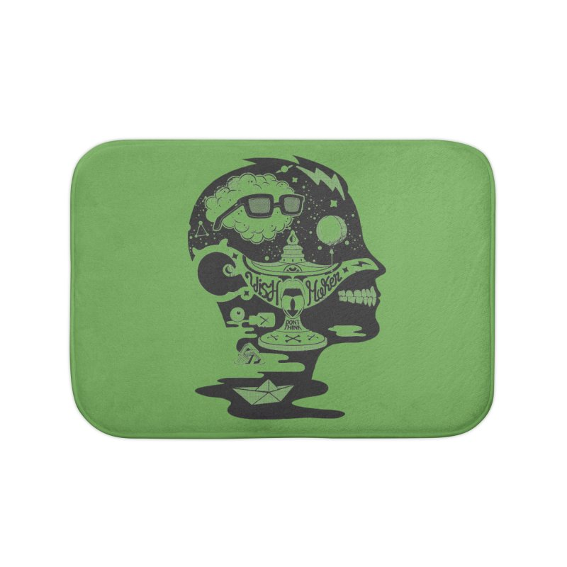 WISH MAKER Home Bath Mat by kukulcanvas's Artist Shop