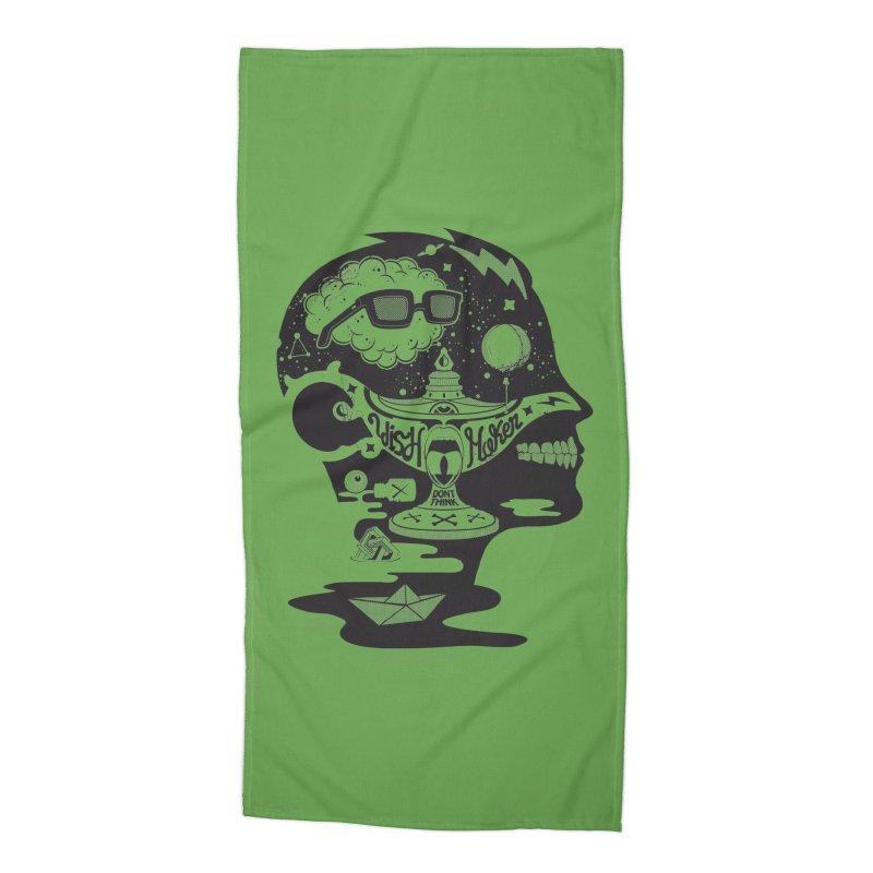 WISH MAKER Accessories Beach Towel by kukulcanvas's Artist Shop