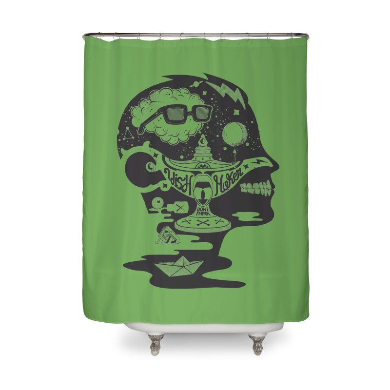 WISH MAKER Home Shower Curtain by kukulcanvas's Artist Shop