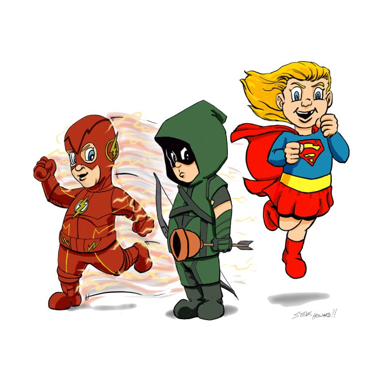 Lil' Heroes by The BRUIN's LAIR...Steve Howard's Artist Shop!