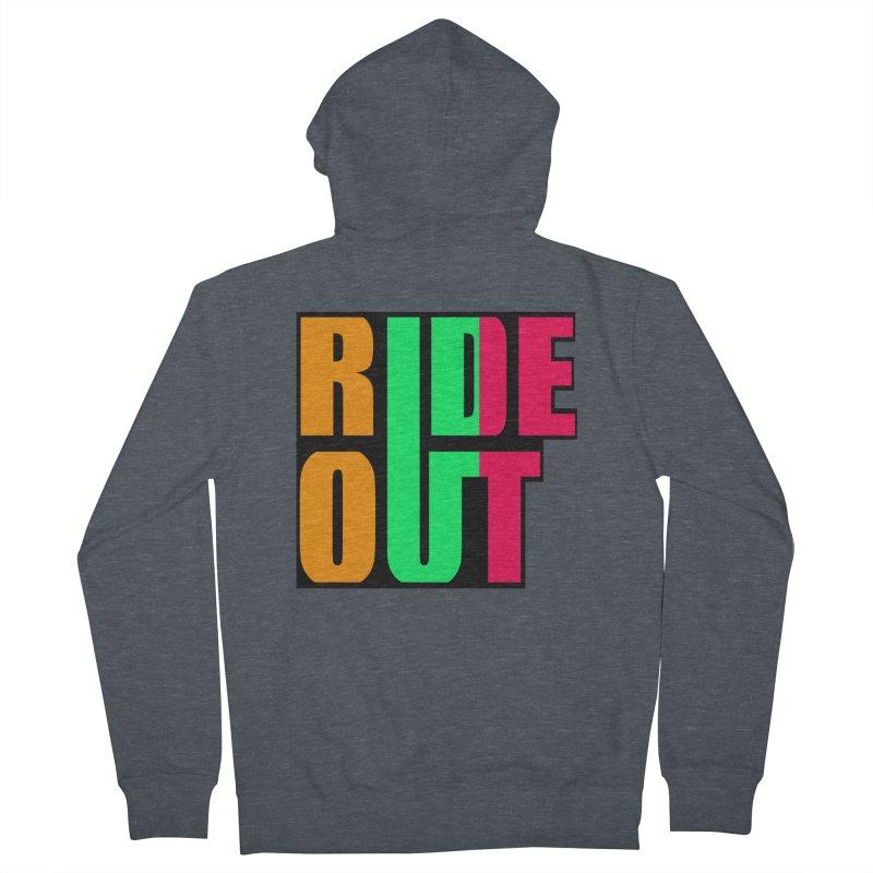 ride out 0 Men's Zip-Up Hoody by kumpast's Artist Shop