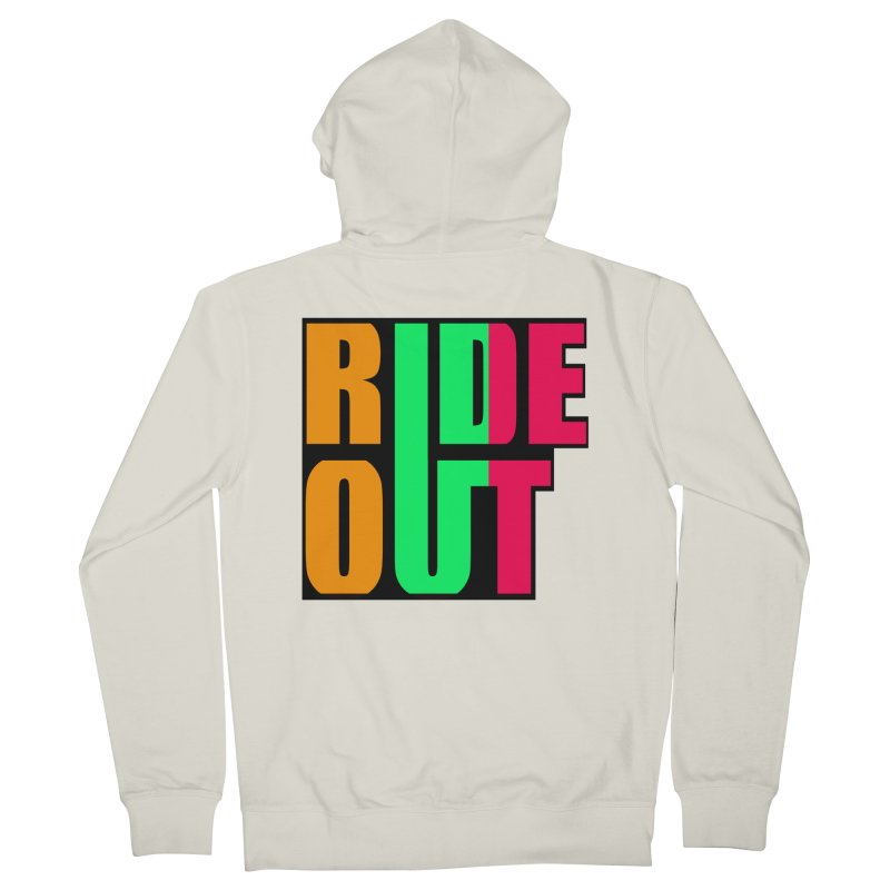 ride out 0 Men's Zip-Up Hoody by kumpast's Artist Shop