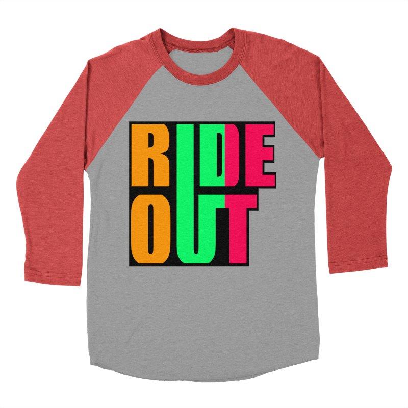 ride out 0 Men's Baseball Triblend T-Shirt by kumpast's Artist Shop