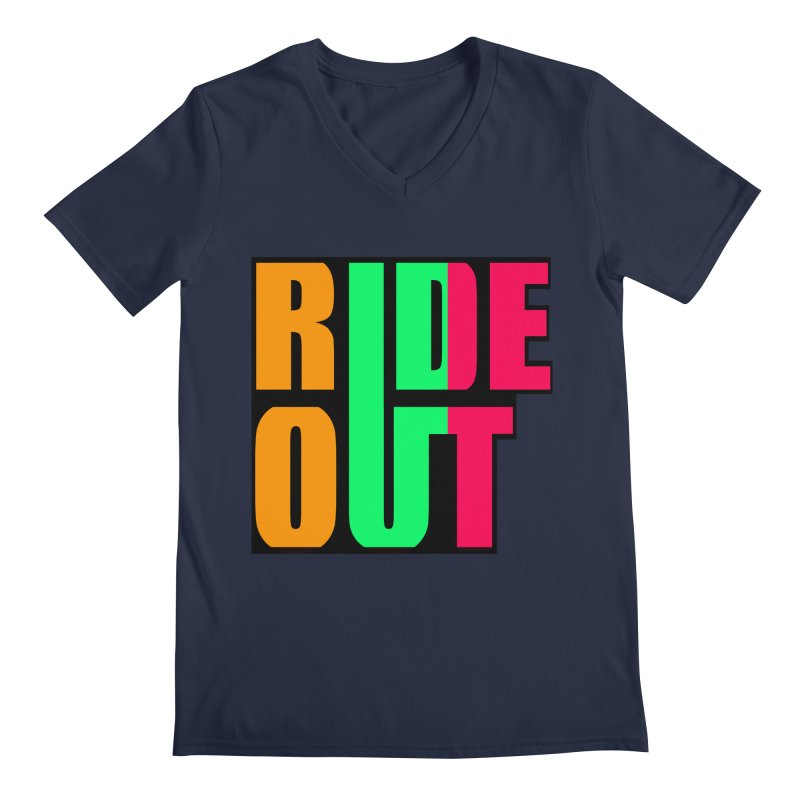 ride out 0 Men's V-Neck by kumpast's Artist Shop