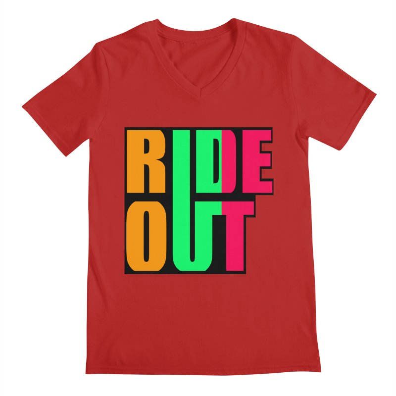 ride out 0 Men's V-Neck by kumpast's Artist Shop