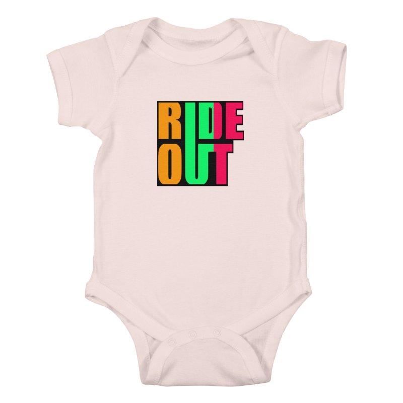 ride out 0 Kids Baby Bodysuit by kumpast's Artist Shop