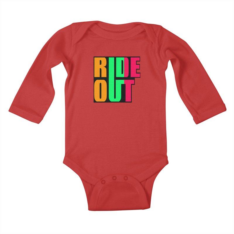 ride out 0 Kids Baby Longsleeve Bodysuit by kumpast's Artist Shop