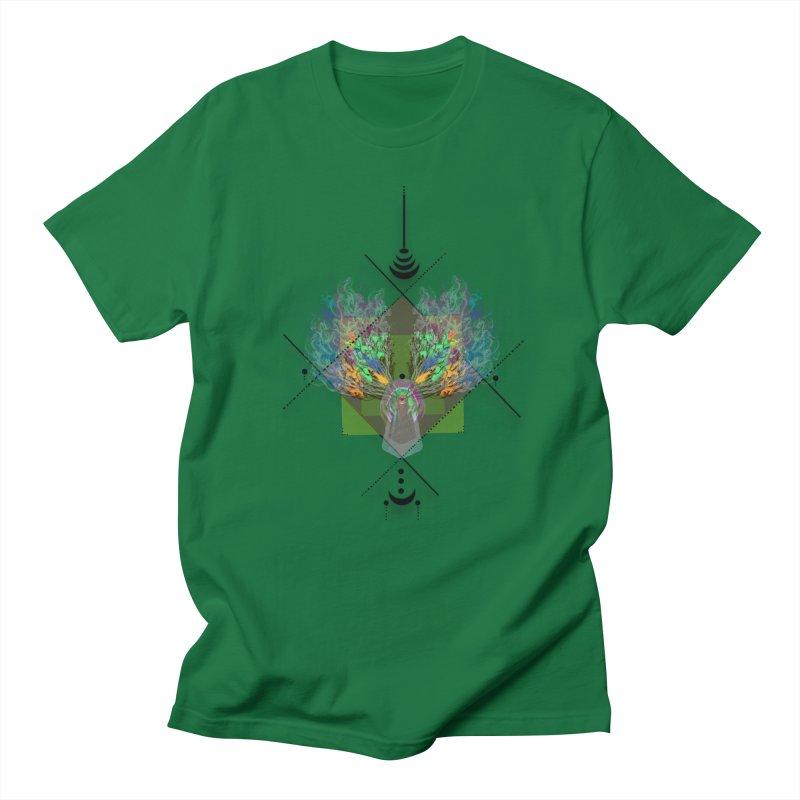 moon duck doodle smokes Men's T-shirt by kumpast's Artist Shop