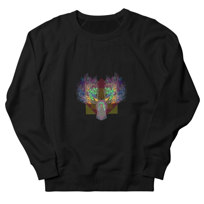 moon duck doodle smokes Men's Sweatshirt by kumpast's Artist Shop