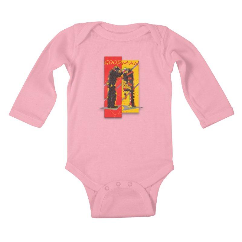 saul goodman Kids Baby Longsleeve Bodysuit by kumpast's Artist Shop
