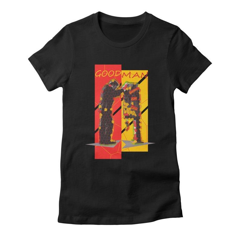 saul goodman Women's Fitted T-Shirt by kumpast's Artist Shop