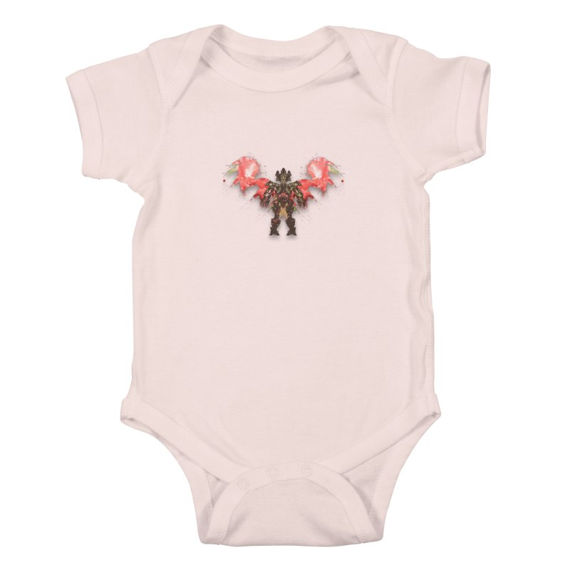 rosey wingsuit boot Kids Baby Bodysuit by kumpast's Artist Shop