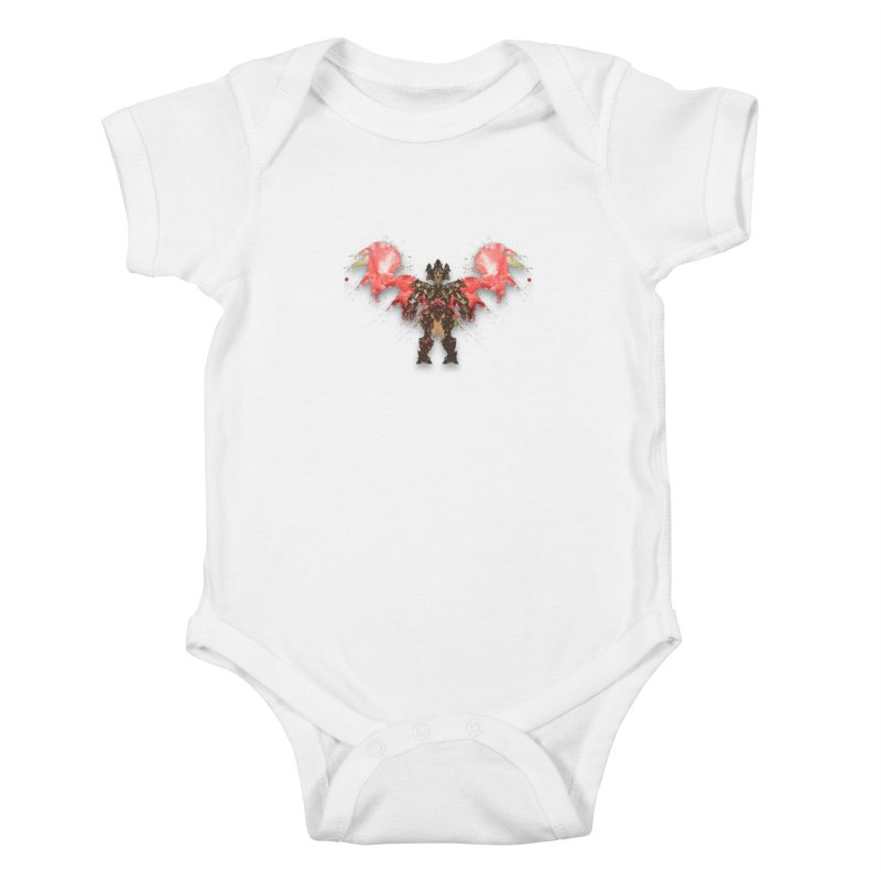 rosey wingsuit boot Kids Baby Bodysuit by kumpast's Artist Shop