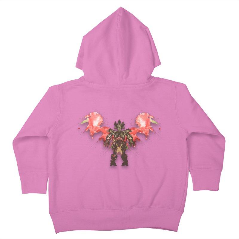 rosey wingsuit boot Kids Toddler Zip-Up Hoody by kumpast's Artist Shop