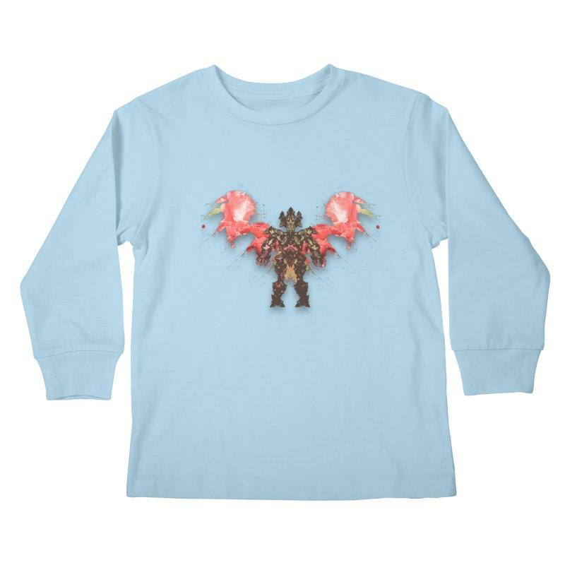 rosey wingsuit boot Kids Longsleeve T-Shirt by kumpast's Artist Shop