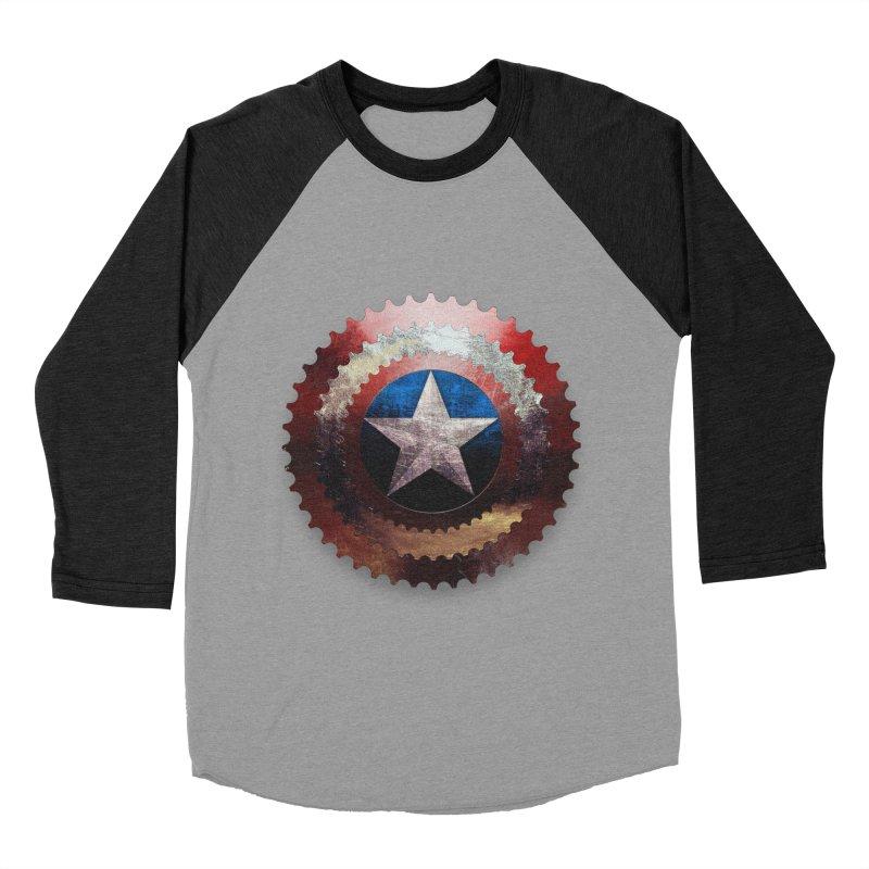 captain bike  Women's Baseball Triblend T-Shirt by kumpast's Artist Shop