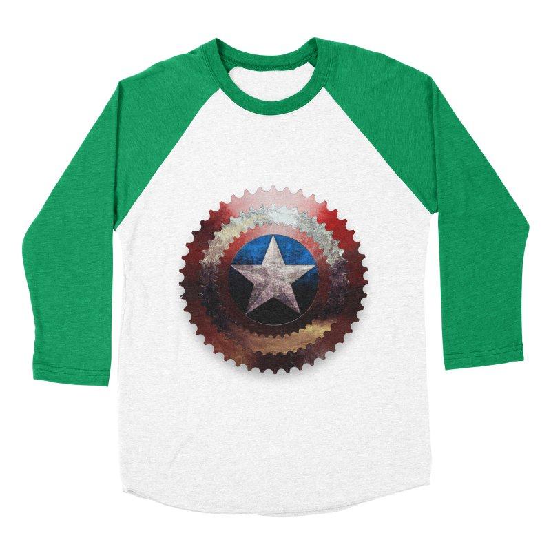 captain bike  Men's Baseball Triblend T-Shirt by kumpast's Artist Shop