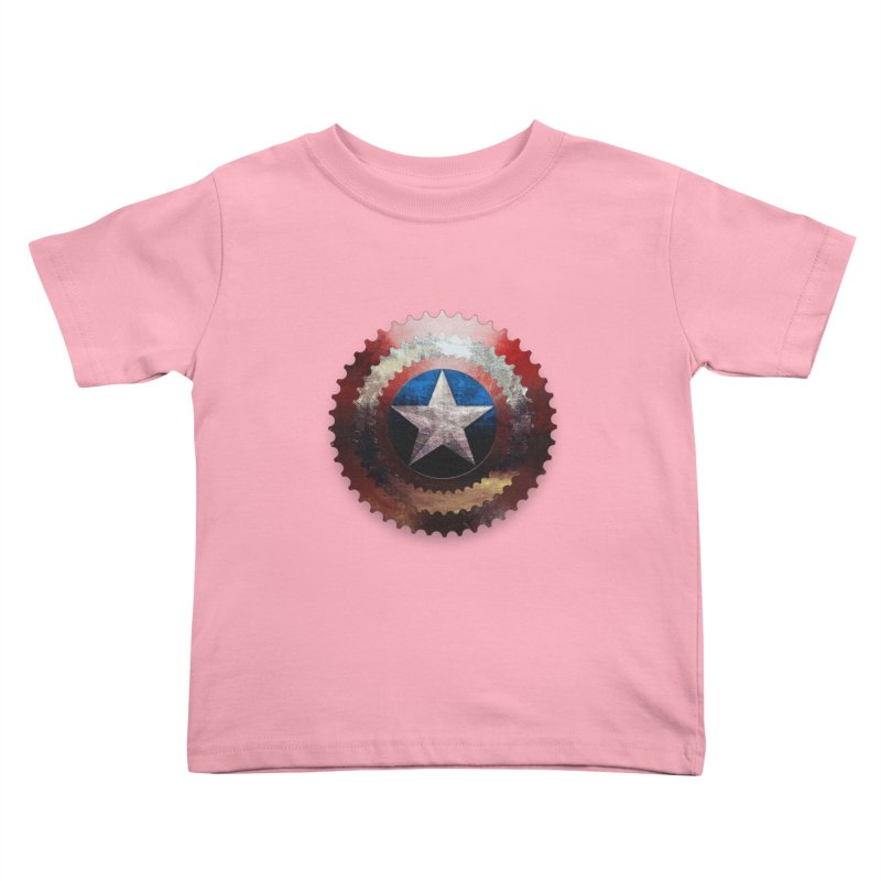 captain bike  Kids Toddler T-Shirt by kumpast's Artist Shop