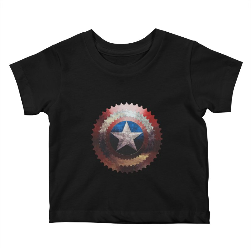 captain bike  Kids Baby T-Shirt by kumpast's Artist Shop