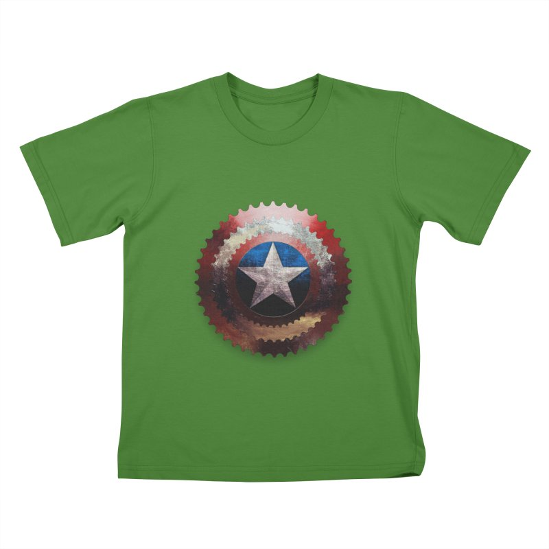 captain bike  Kids T-shirt by kumpast's Artist Shop