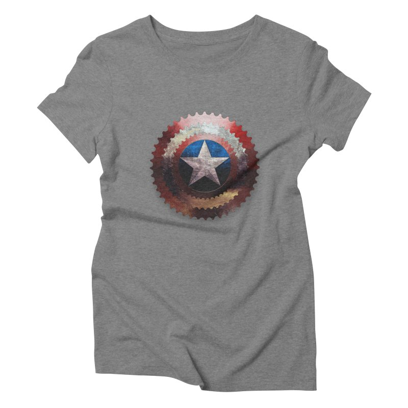 captain bike  Women's Triblend T-shirt by kumpast's Artist Shop