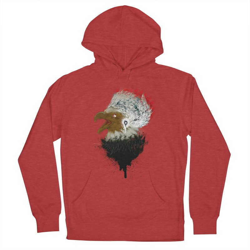 the leader indian eagle chief Women's Pullover Hoody by kumpast's Artist Shop
