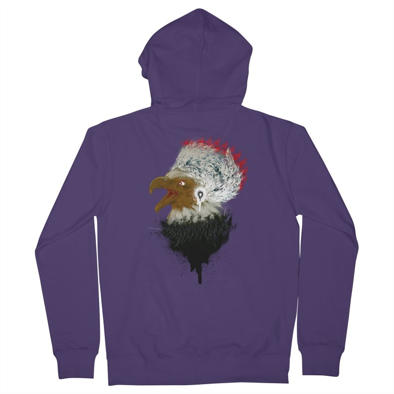 the leader indian eagle chief Women's Zip-Up Hoody by kumpast's Artist Shop