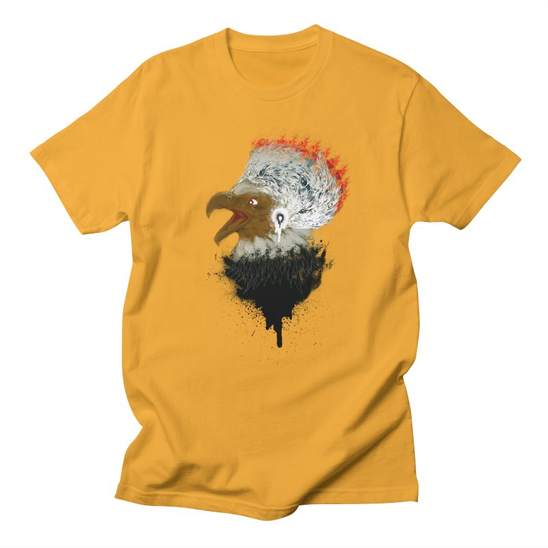 the leader indian eagle chief Men's T-Shirt by kumpast's Artist Shop