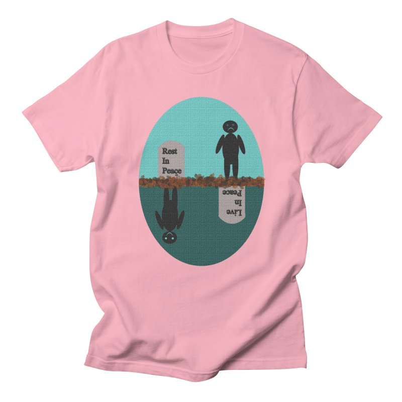 rip vs lip Men's T-Shirt by kumpast's Artist Shop