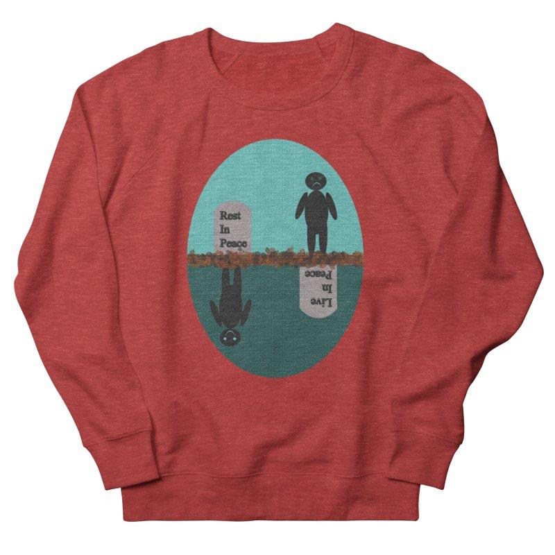 rip vs lip Men's Sweatshirt by kumpast's Artist Shop