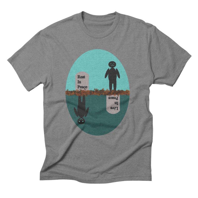 rip vs lip Men's Triblend T-Shirt by kumpast's Artist Shop