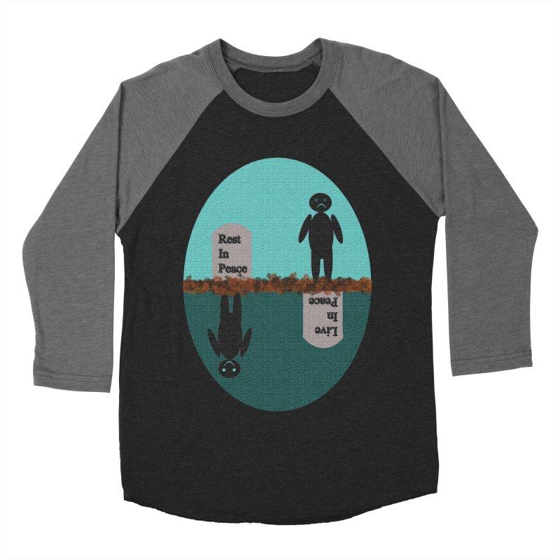 rip vs lip Men's Baseball Triblend T-Shirt by kumpast's Artist Shop