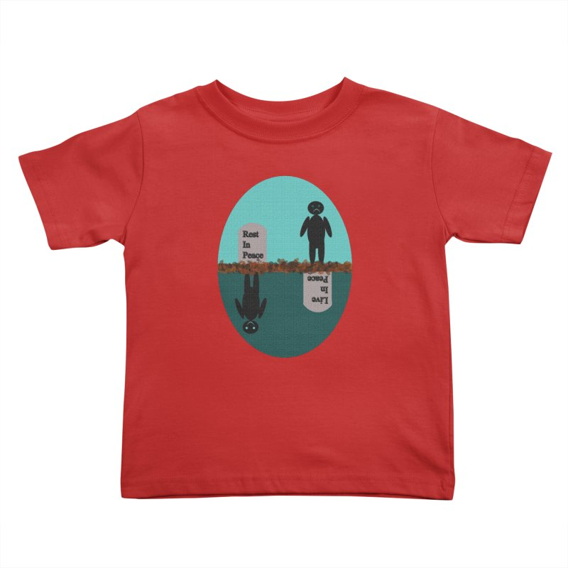rip vs lip Kids Toddler T-Shirt by kumpast's Artist Shop