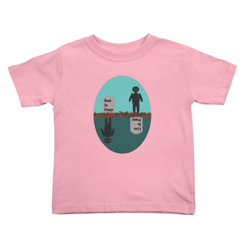 rip vs lip Kids Toddler T-Shirt by kumpast's Artist Shop