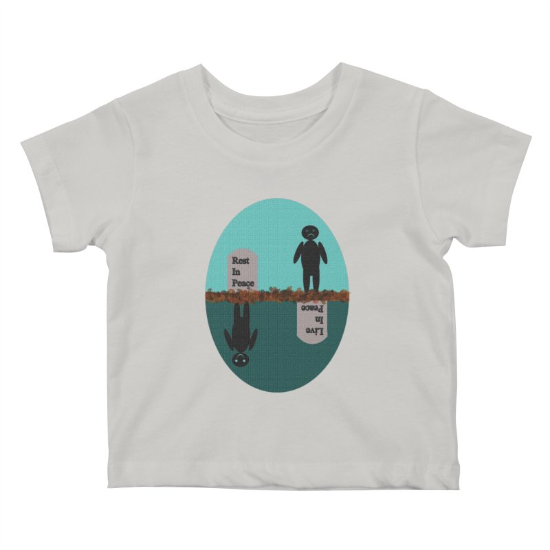 rip vs lip Kids Baby T-Shirt by kumpast's Artist Shop