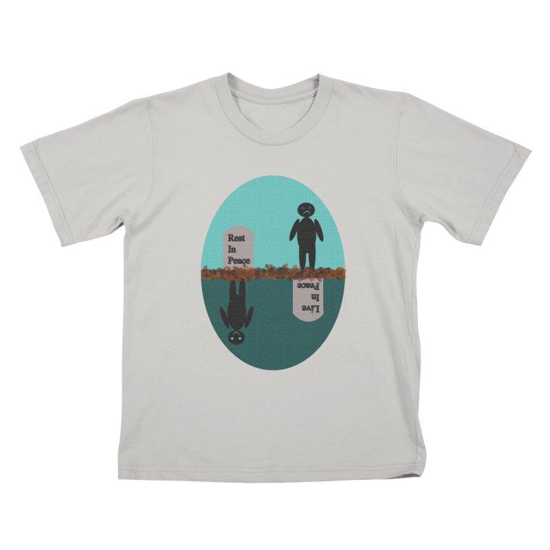 rip vs lip Kids T-shirt by kumpast's Artist Shop