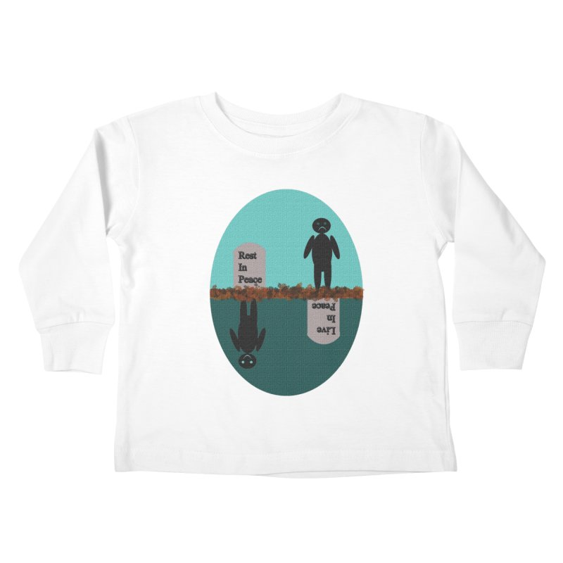 rip vs lip Kids Toddler Longsleeve T-Shirt by kumpast's Artist Shop