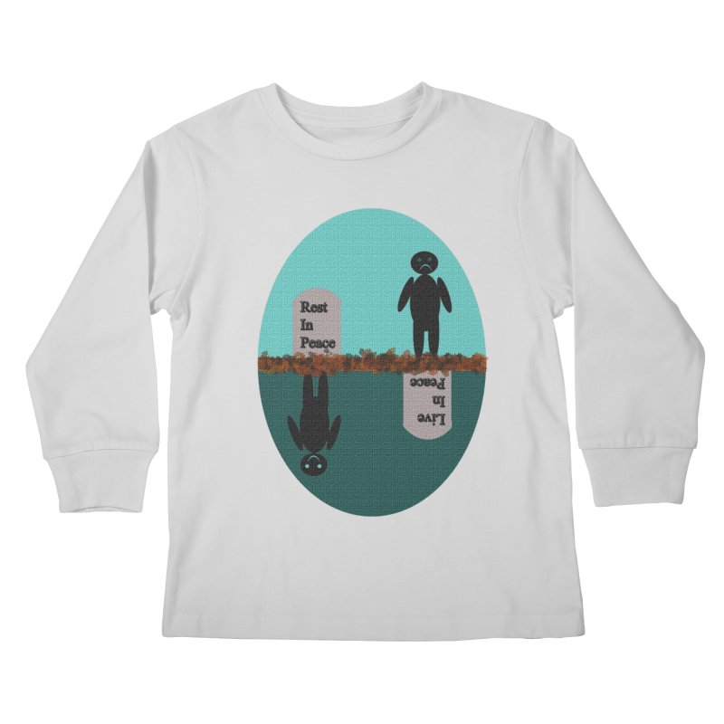 rip vs lip Kids Longsleeve T-Shirt by kumpast's Artist Shop
