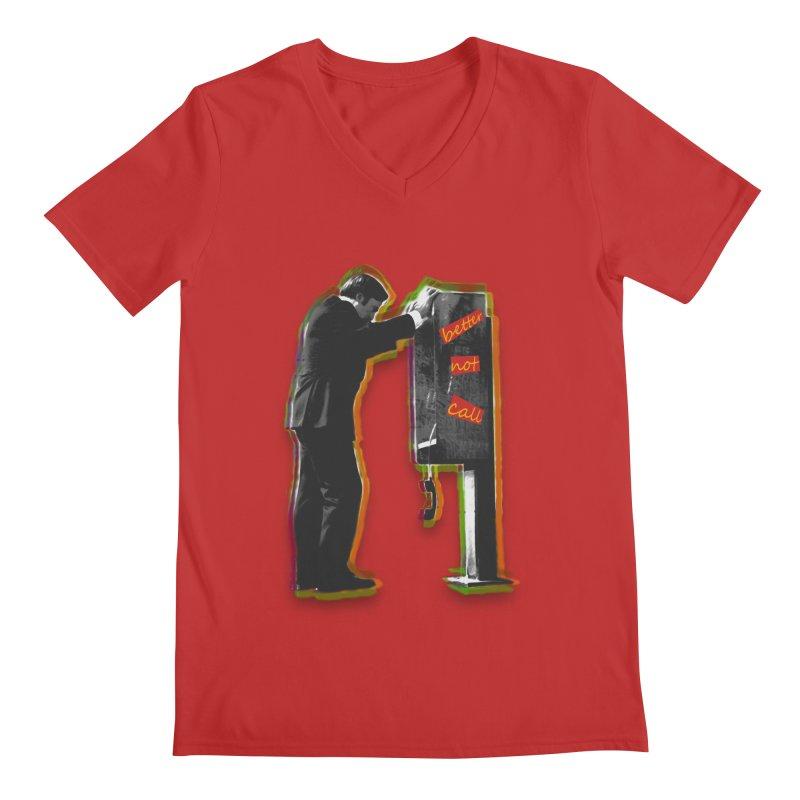better not call saul Men's V-Neck by kumpast's Artist Shop