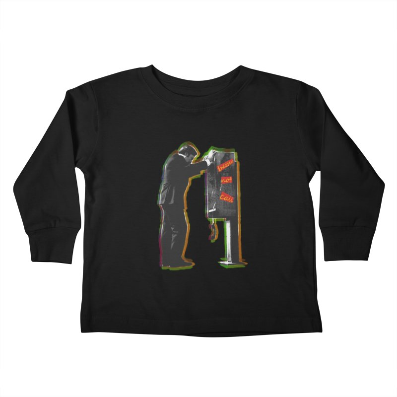 better not call saul Kids Toddler Longsleeve T-Shirt by kumpast's Artist Shop