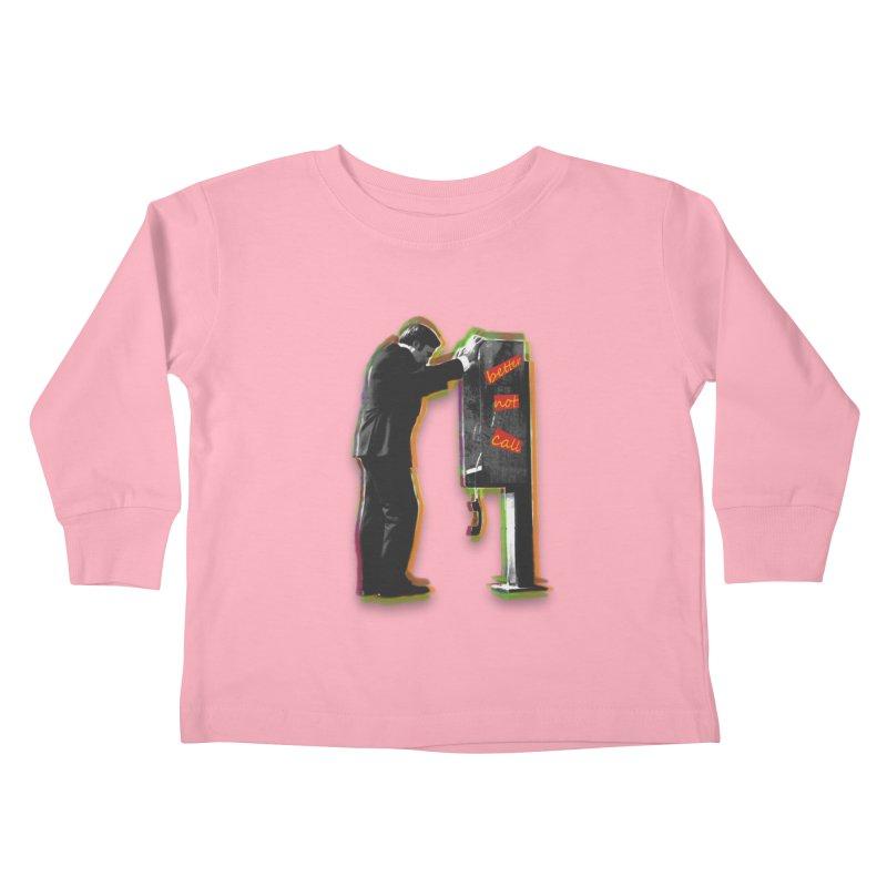 better not call saul Kids Toddler Longsleeve T-Shirt by kumpast's Artist Shop