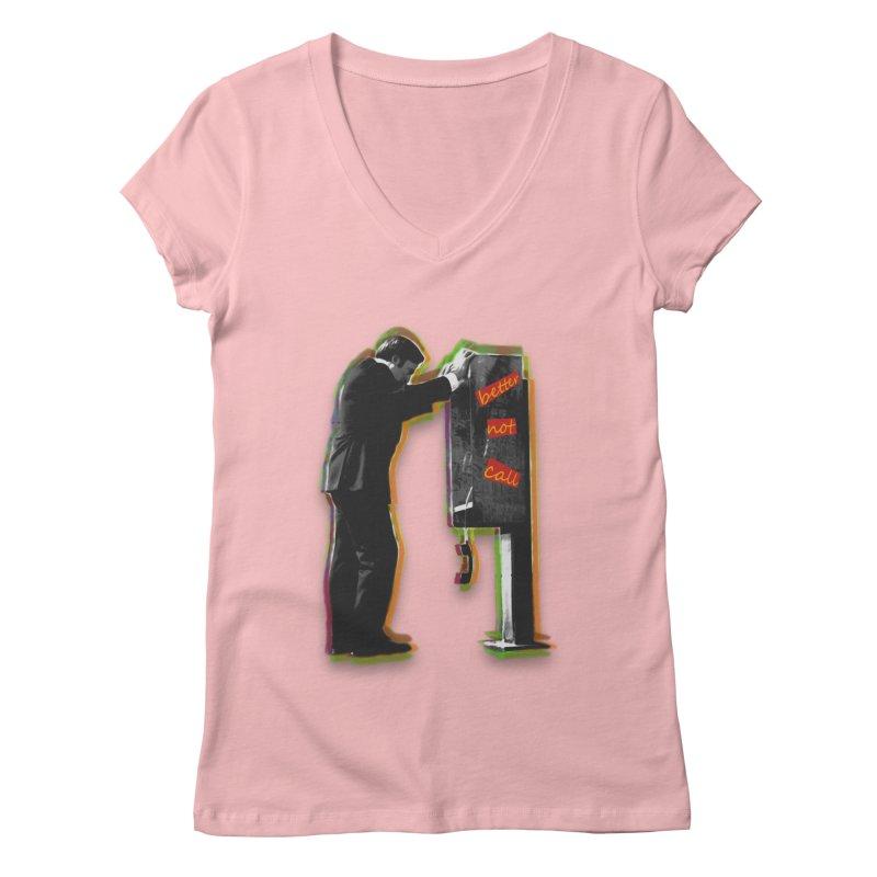 better not call saul Women's V-Neck by kumpast's Artist Shop