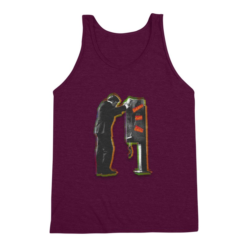 better not call saul Men's Triblend Tank by kumpast's Artist Shop