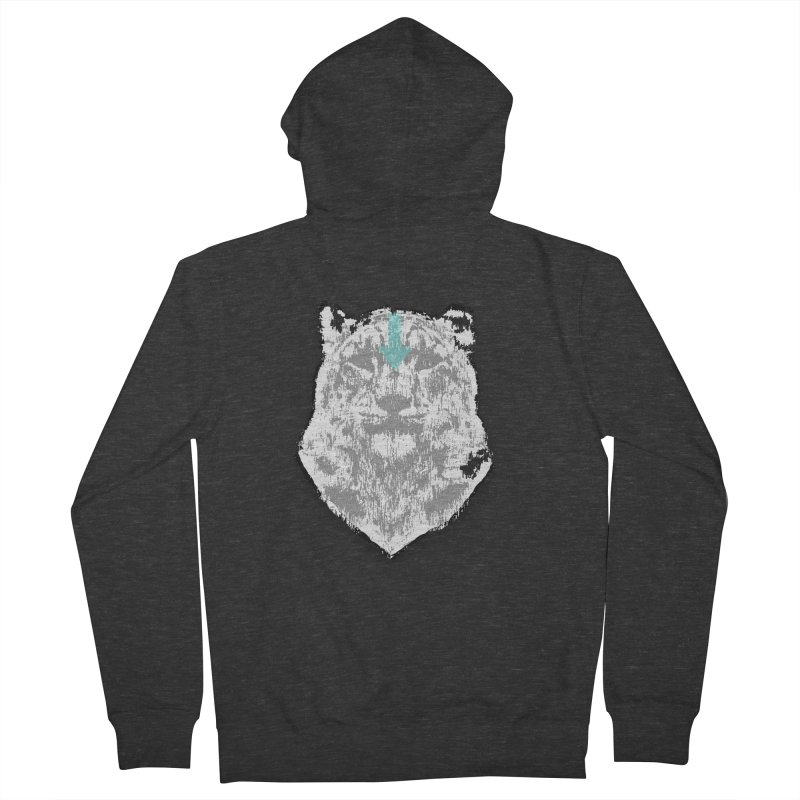 tiger the last air bender Men's Zip-Up Hoody by kumpast's Artist Shop